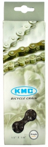 Цепь KMC Z410, 1-ск., 112 звеньев + замок