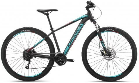 """Велосипед 27.5"""" Orbea MX 40 2019 Black - Turquoise - Red"""