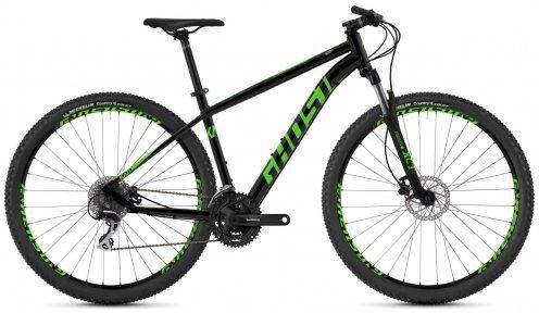 "Велосипед 29"" Ghost Kato 2.9 night black / riot green"