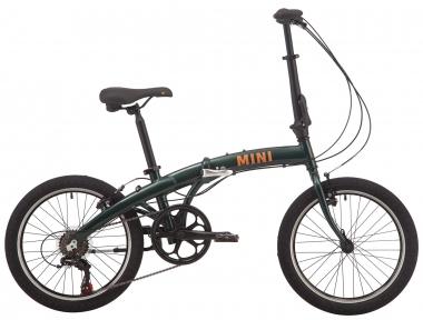 """Велосипед складной 20"""" Pride MINI 6 2019 темно-зеленый"""