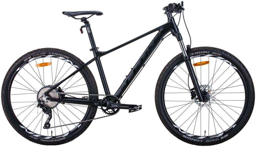 "Велосипед 29"" Leon TN-60 HDD (2020) черный (м)"