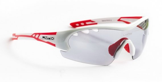 Очки LYNX Detroit PH shiny white red (фотохромная линза)