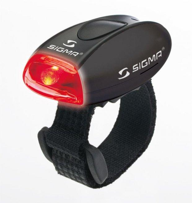 Габаритный свет Sigma MICRO BLACK/LED-Red