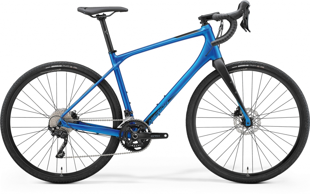 "Велосипед 28"" Merida SILEX 400 (2021) matt blue"