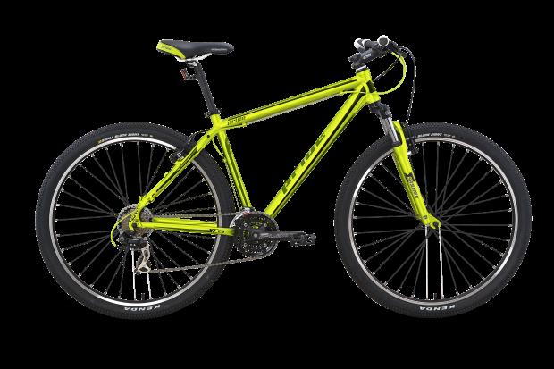 Велосипед PRIDE XC-29 V-br 2015 зелено-черный матовый