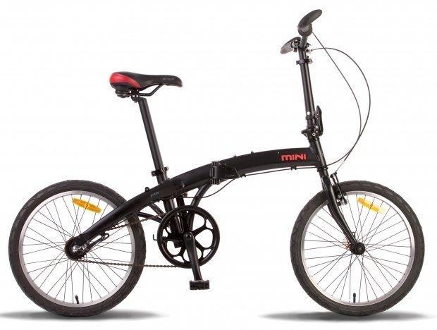 Велосипед PRIDE MINI 3 2016 черно-красный матовый