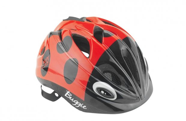 Шлем детский Buggie красный жук, размер  XS/S