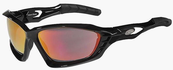 Очки Limar F60 PC черные с одной поликарбонатной линзой
