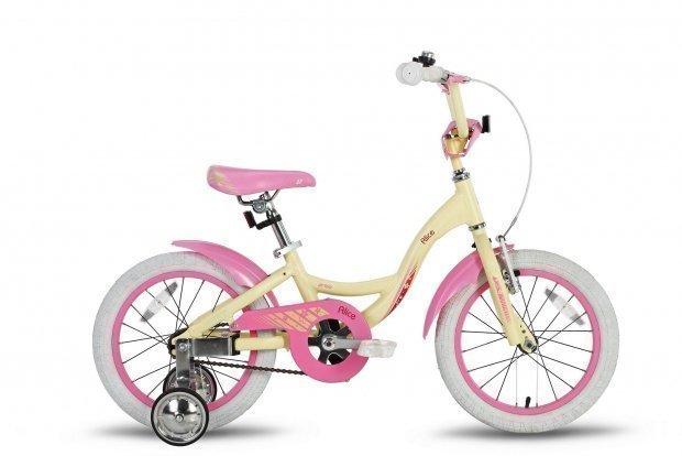 Велосипед PRIDE ALICE 2016 бежево-розовый матовый