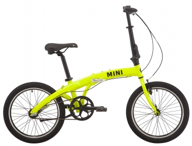 "Велосипед складной 20"" Pride MINI 3 2019 неон/лайм"