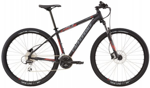 Велосипед Cannondale TRAIL 6 29 2016 black