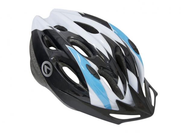Шлем BLAZE белый-синий, размер S/M
