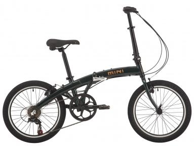 "Велосипед 20"" Pride MINI 6 темно-зеленый 2018"