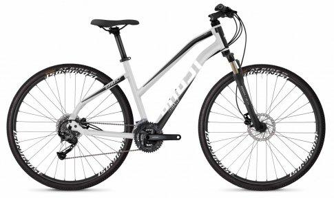 "Велосипед 28"" Ghost Square Cross 1.8 W iridium silver/jetblack/starwhite"