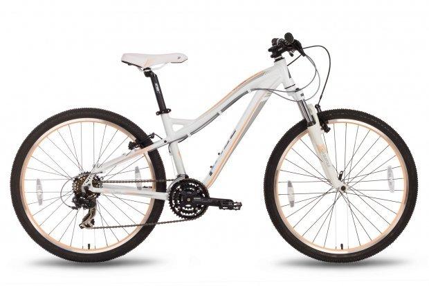 Велосипед PRIDE BIANCA V-br 2016 бело-персиковый матовый