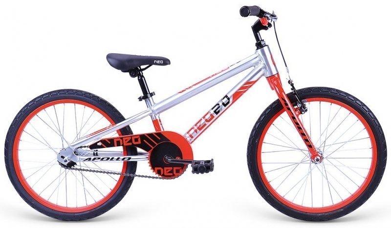 """Велосипед 20"""" Apollo Neo 20 boys красный/черный"""
