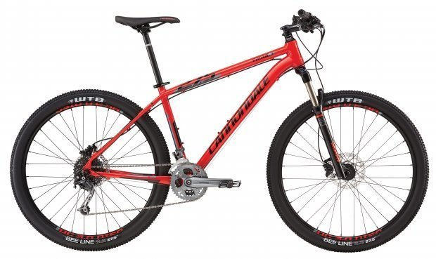 Велосипед Cannondale TRAIL 3 27.5 2016 red