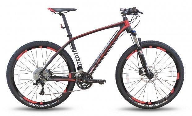 Велосипед PRIDE XC-650 PRO 1.0 2016 черно-красный матовый