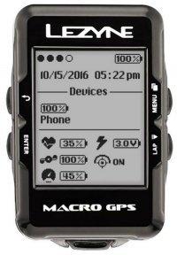 Велокомпьютер Lezyne Macro GPS