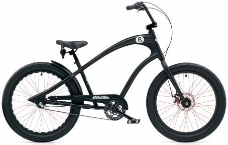 Велосипед ELECTRA Straight 8 8i Disc satin black