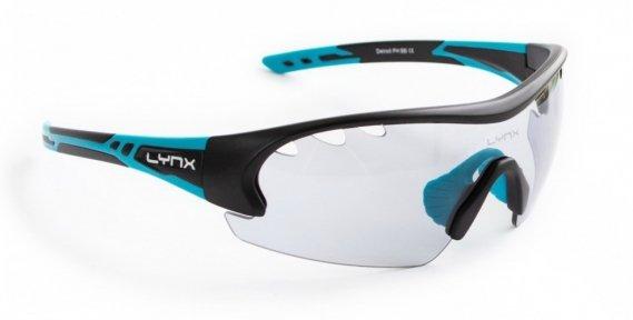 Очки LYNX Detroit PH matt black blue (фотохромная линза)