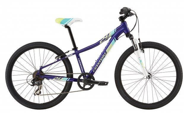 Велосипед CANNONDALE KIDS 24 TRAIL for girl 2016 purple