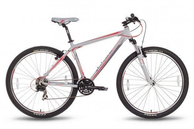 Велосипед PRIDE XC-29 V-br 2016 серо-красный матовый