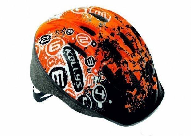 Шлем детский MARK оранжевый, размер XS/S