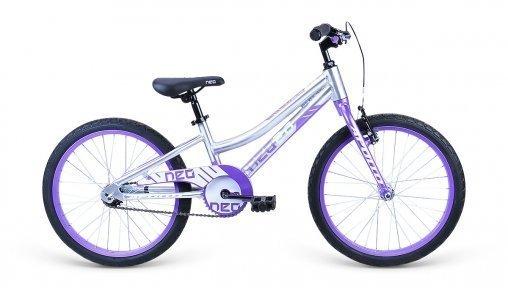 "Велосипед 20"" Apollo Neo girls сиреневый/белый"