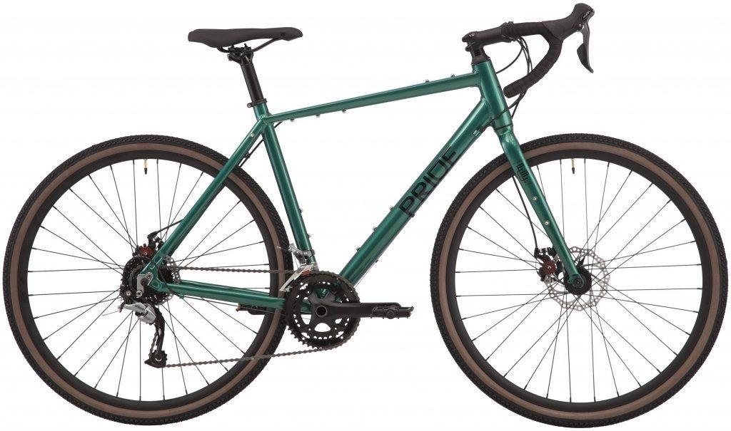 """Велосипед 28"""" Pride RoCX 8.2 (2020) green/black"""