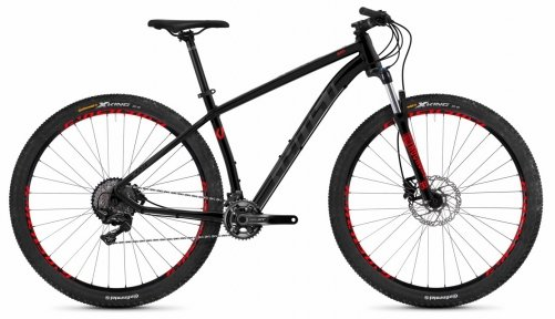 "Велосипед 29"" Ghost Kato 9.9 night black / titanium gray / riot red"