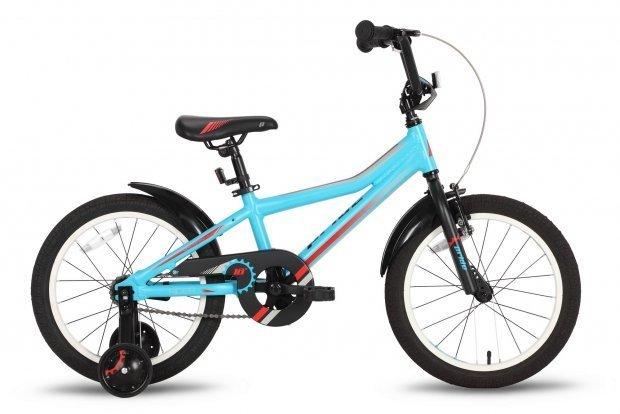 Велосипед PRIDE RIDER 2016 сине-красный матовый