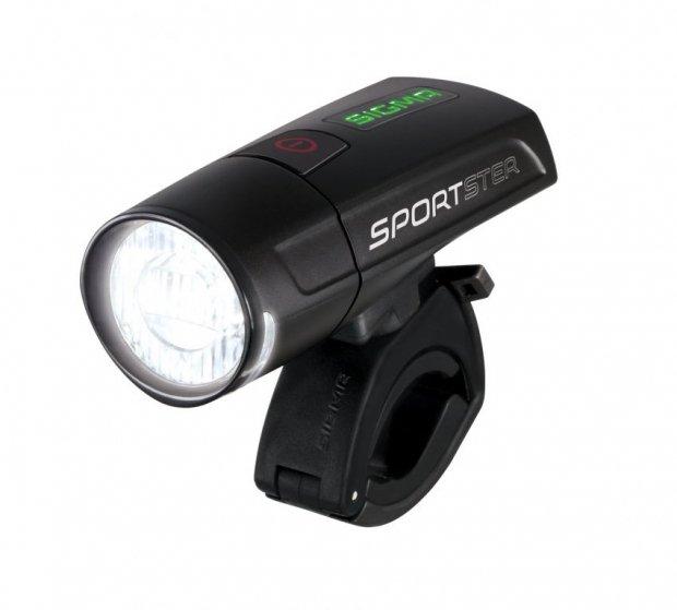 Передний фонарь Sigma SPORTSTER Black