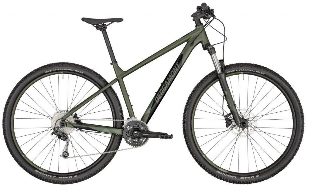 """Велосипед 29"""" Bergamont Revox 5 (2020) pale green"""