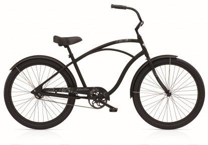 Велосипед ELECTRA Coaster 3i (Alloy) Men's black satin