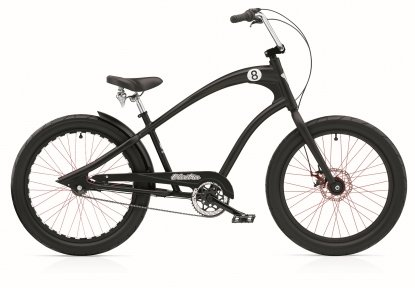 Велосипед ELECTRA Straight 8 3i (Alloy) disc satin black
