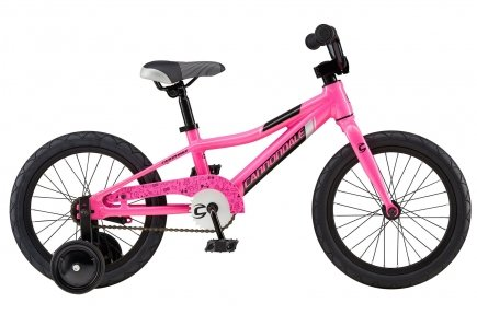 Велосипед Cannondale Trail 16 Single-Speed Girl's 2016 pink