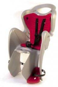 Кресло BELLELLI MR FOX Clever детское до 22кг (серебро с красным)