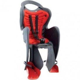 Кресло BELLELLI MR FOX Clever  детское до 22кг (серый, красн подкладка)