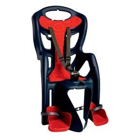 Кресло BELLELLI Pepe Clamp до 22кг (синий с красным) на багажник
