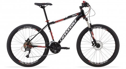 Велосипед Cannondale Trail 5 Helix 6 гидравл. 2014 черн.