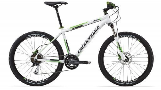 Велосипед Cannondale Trail 4 Helix 6 гидравл. 2014 белый