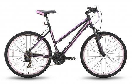 Велосипед PRIDE STELLA 2015 черно-розовый матовый