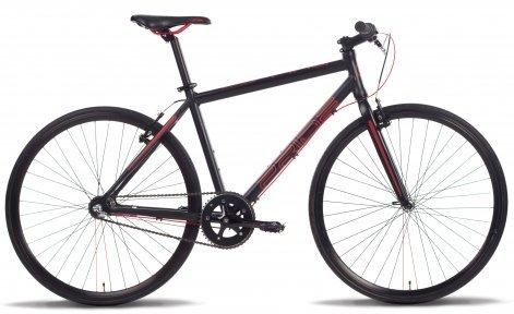 Велосипед PRIDE BULLET 2015 черно-красный матовый