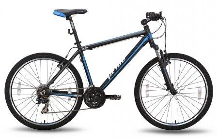 Велосипед PRIDE XC-2.0 2015 черно-синий матовый
