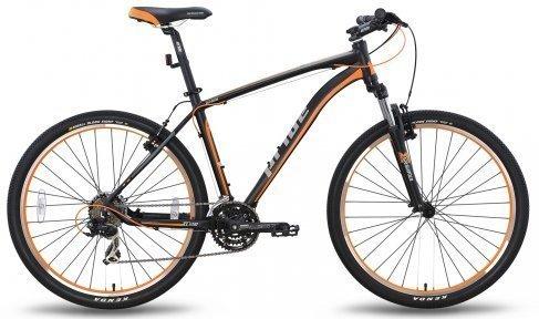 Велосипед PRIDE XC-650 V-br 2015 черно-оранжевый матовый