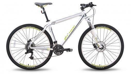 Велосипед PRIDE XC-29 MD 2015 бело-зеленый матовый