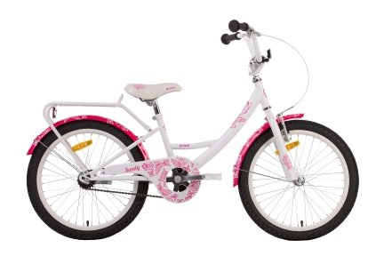 Велосипед PRIDE SANDY 2014 бело-розовый