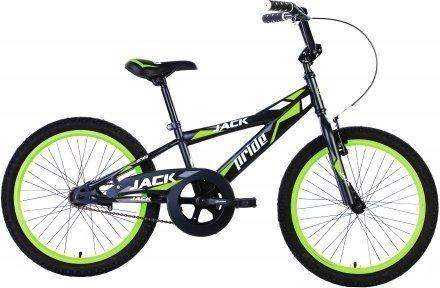 Велосипед PRIDE JACK 2015 черно-зеленый матовый