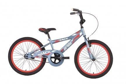 Велосипед PRIDE JACK 2015 серо-красный матовый